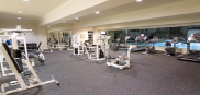 Luxury condominiums - fitness room